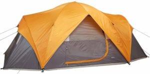 budget camping tent amazonbasics