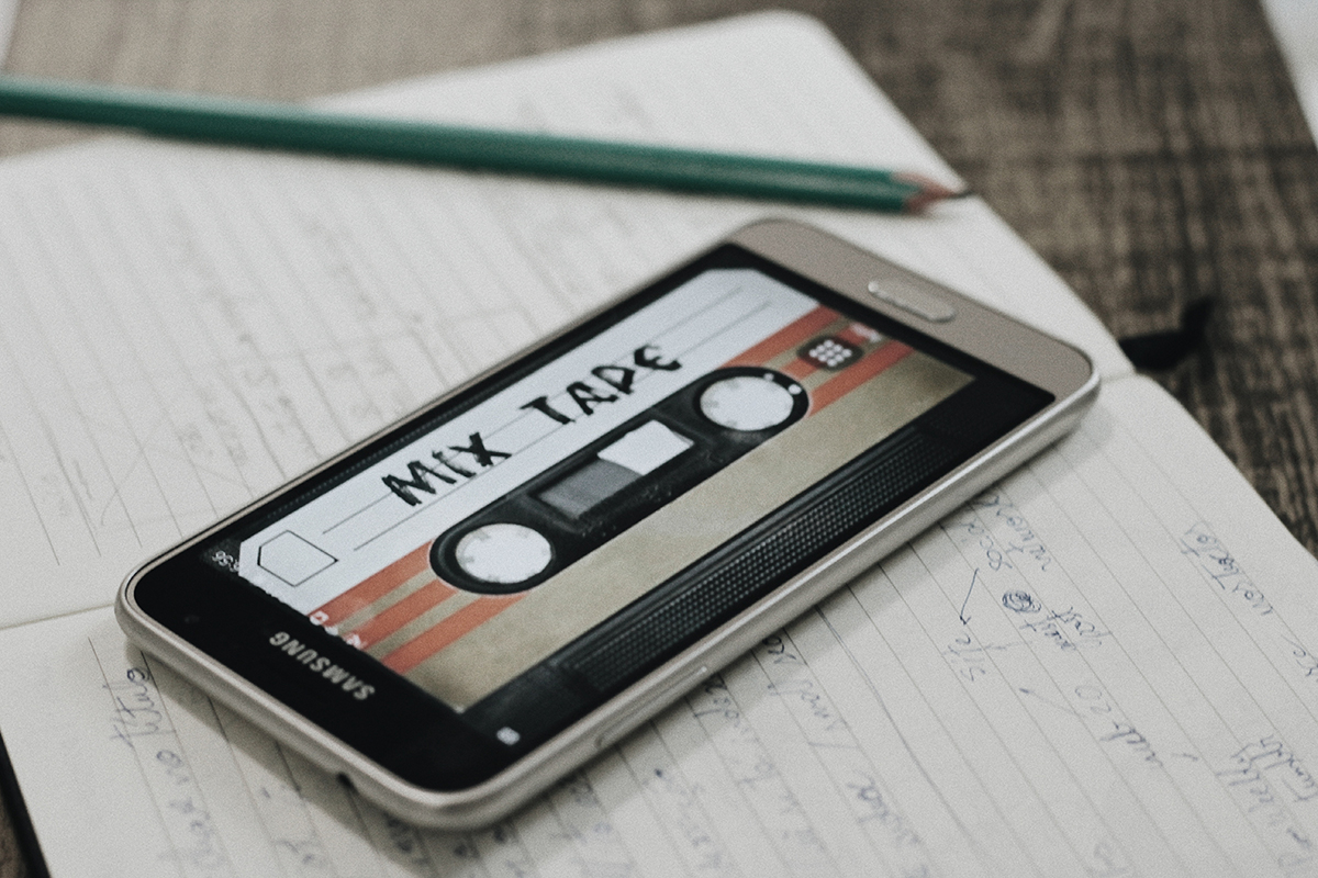 Top 5 DIY Holiday Gift Ideas - Mix Tape