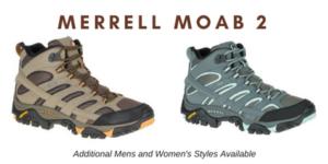 Merrel Moab 2 Hiking Boots