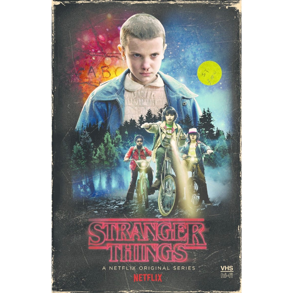 stranger things season 1 DVD bluray