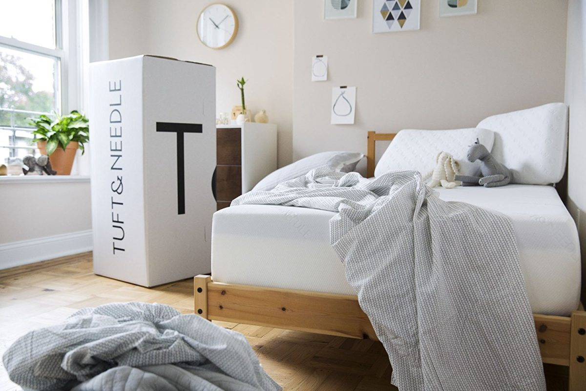 mattress in bedroom to get more sleep less stress
