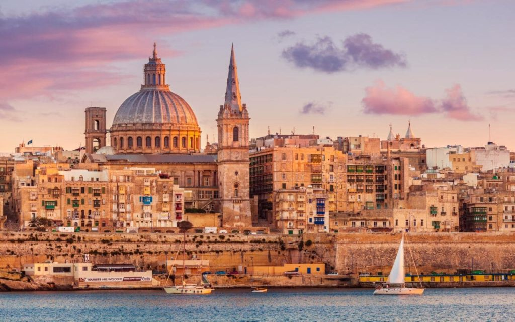 2018 Travel Destinations — Malta
