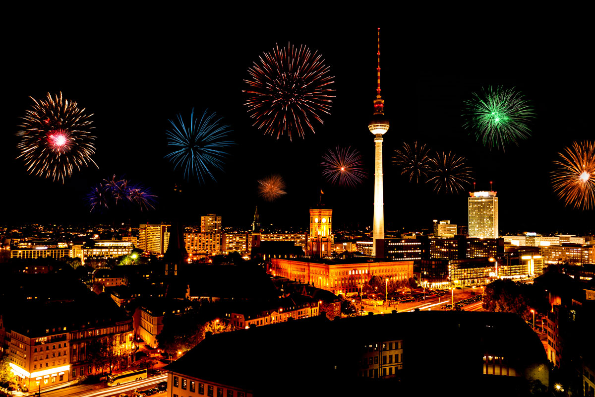 Berlin top new years eve destinations