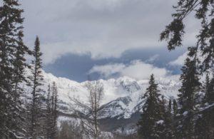ski mountain scenery