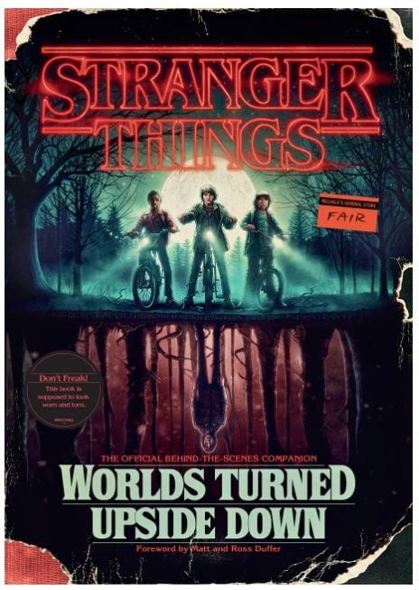 behind the scenes of stranger things book
