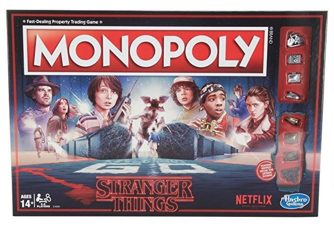 monopoly game that's stranger things themed