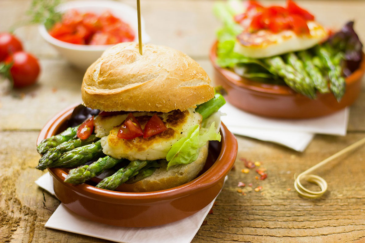 Restaurants Vegetarian Singapore - Vegan Burg