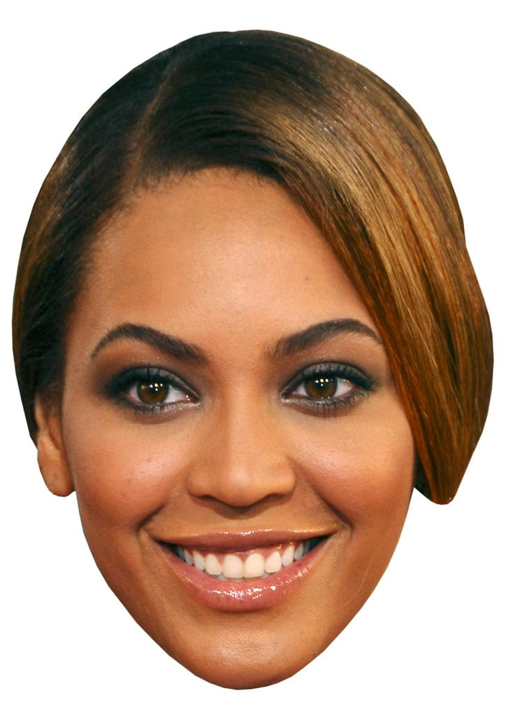 Grammys Viewing Party - Beyonce head
