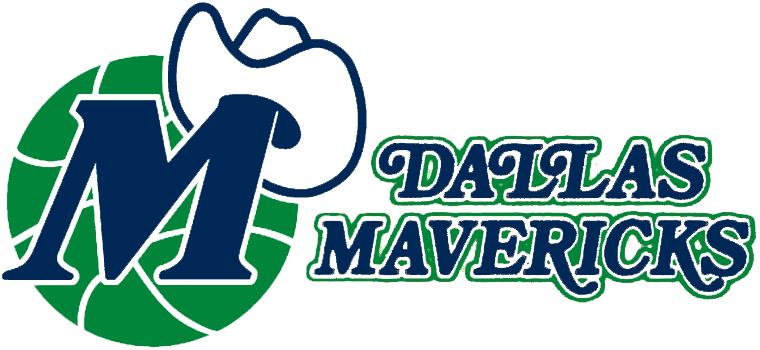 Throwback NBA Logos - Dallas Mavericks