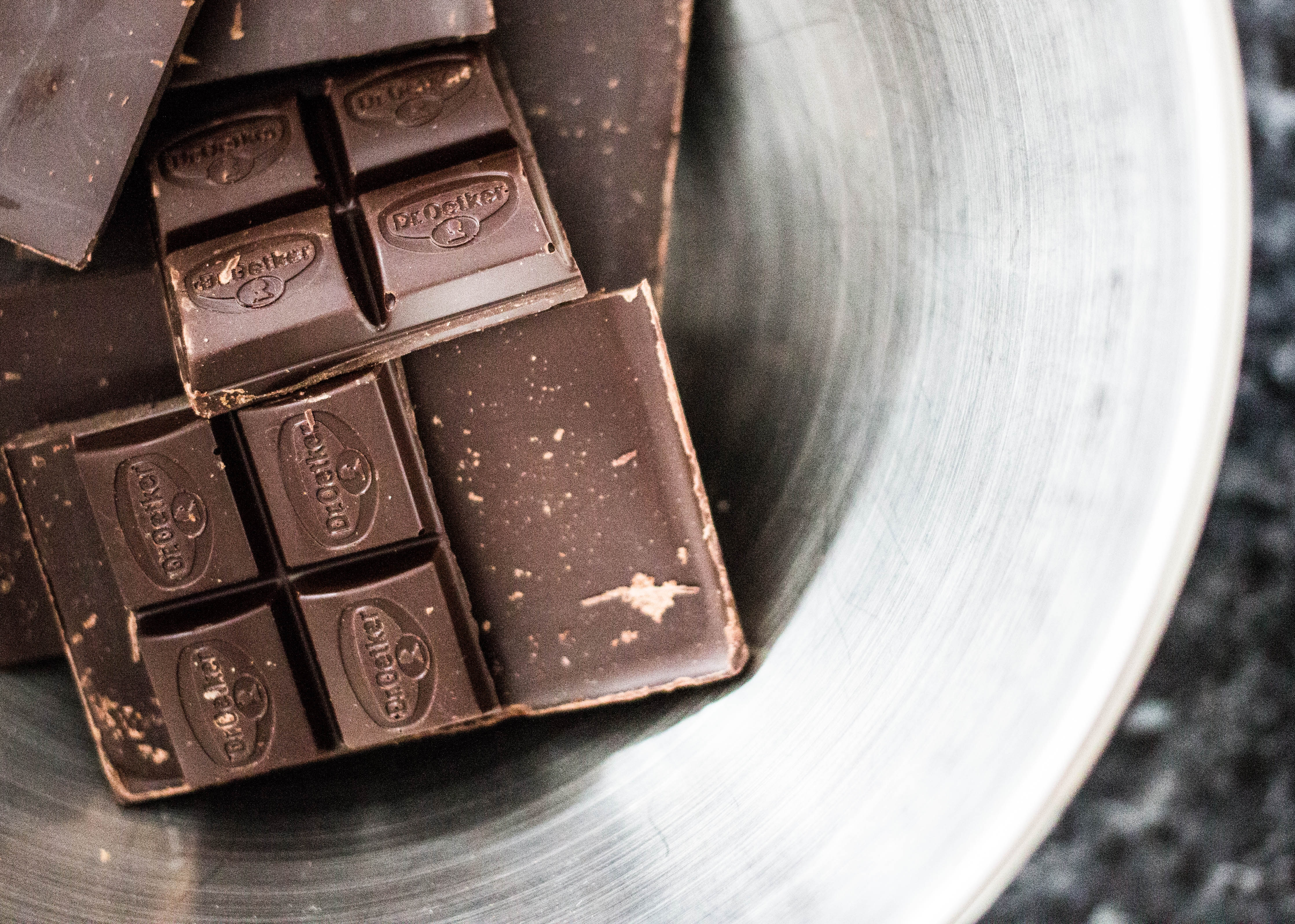 Dark chocolate is full of antioxidents which will help you feeling (and looking) good. Photo: Charisse Kenion on Unsplash