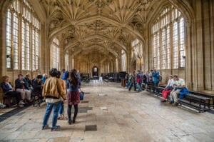 Most Beautiful Libraries - The Bodleian's Divinity School