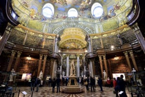 Most beautiful libraries - The Austrian National Library