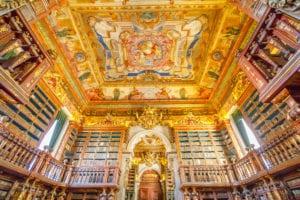 Most beautiful libraries - Portugal's Biblioteca Joanina