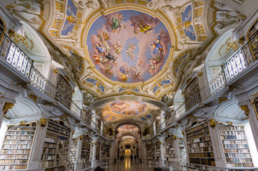 Most beautiful library - Admont Abbey