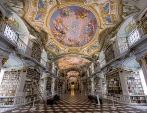 Most beautiful library -Admont Abbey's Library
