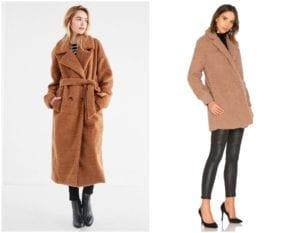 2018 Outwear Trends - Teddy Coat