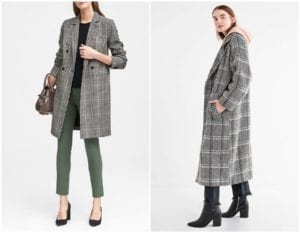 2018 Outwear Trends - plaid