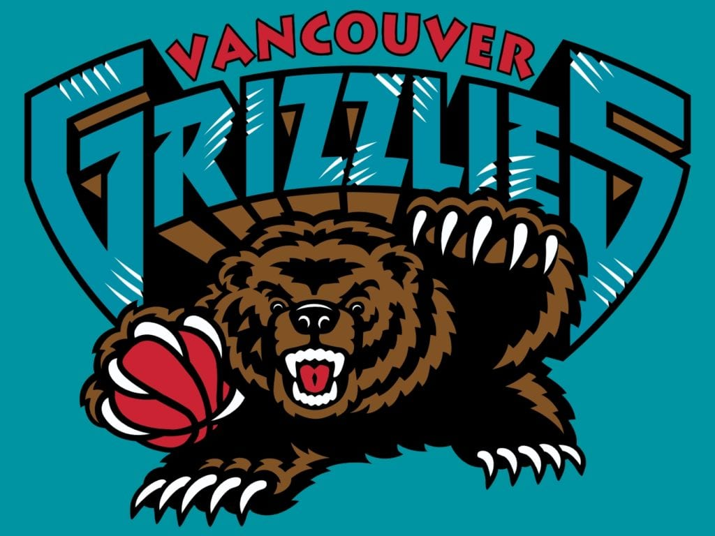 Throwback NBA Logos - Vancouver Grizzlies