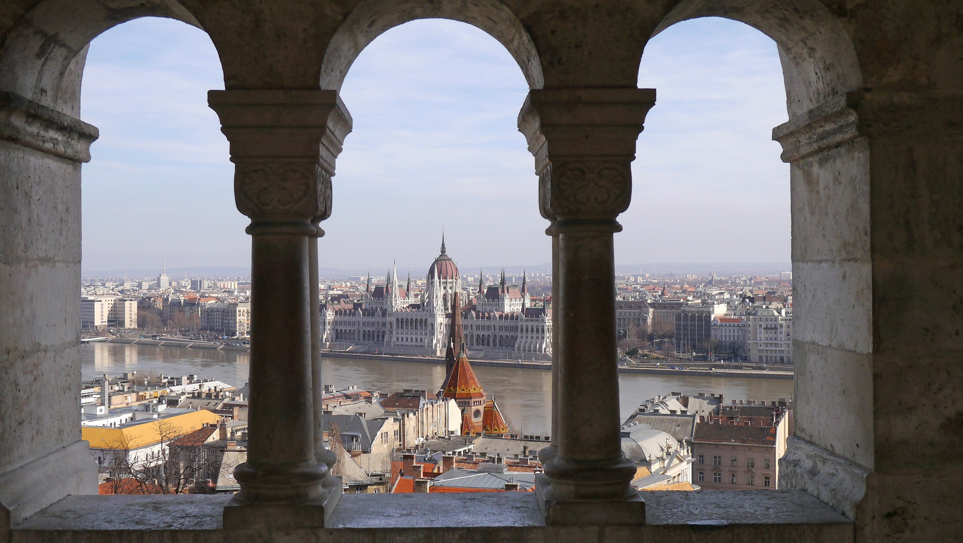 Weekend in Budapest: Views of Pest from Fisherman's Bastian