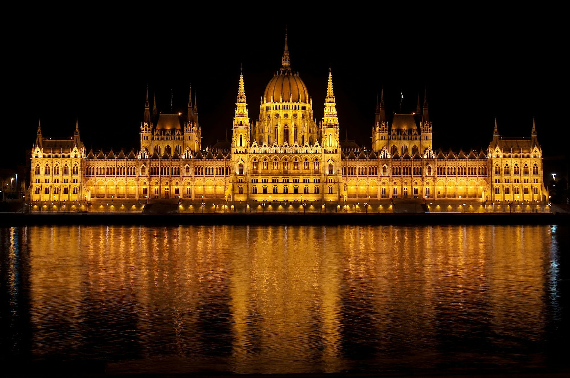 Weekend in Budapest: View of the Parliament Building From the Danube Cruise