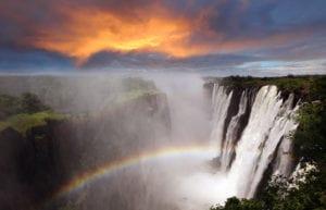 beautiful-waterfall-victoria-falls