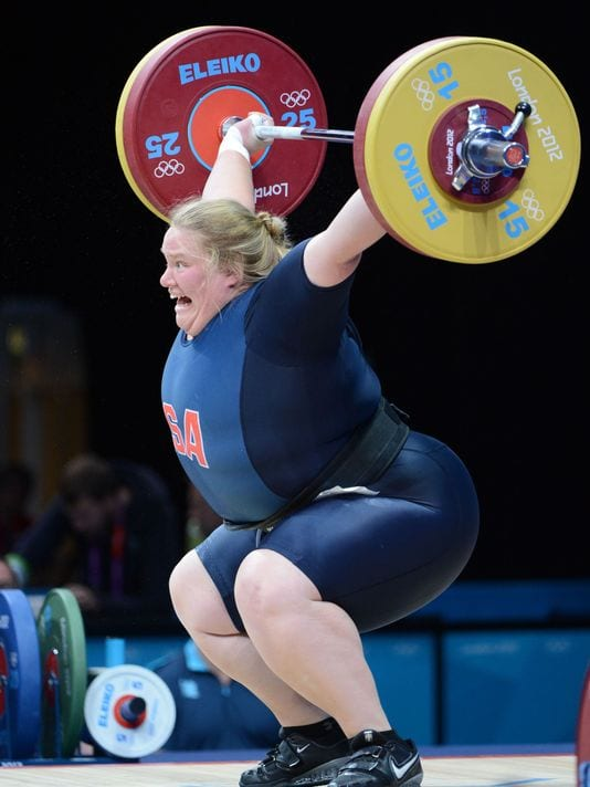 holley mangold fat athletes