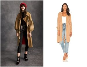 2018 Outerwear Trends - Trench Coats