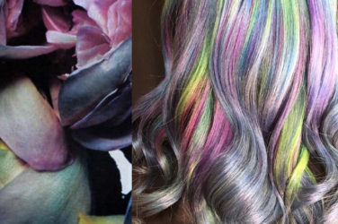 rainbow hair - Ursula Goff