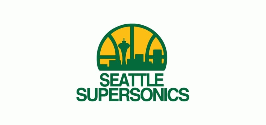 Throwback NBA Logos - Seattle Supersonics