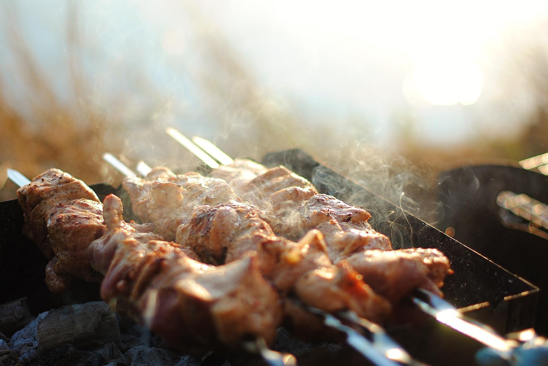 Moroccan appetizers - kebabs