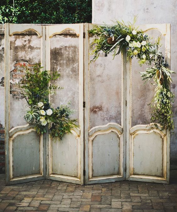 wedding backdrop screen