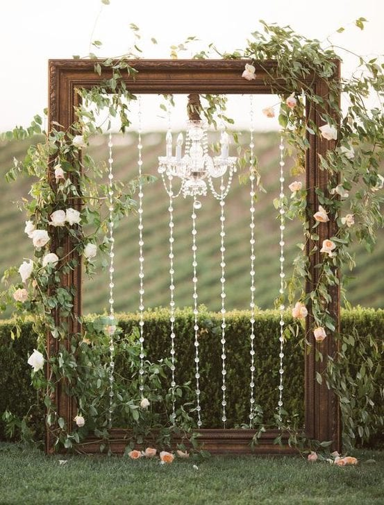wedding backdrop frame