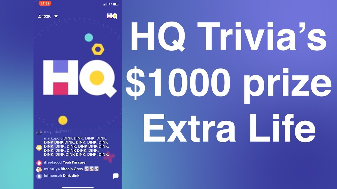 HQ Trivia Extra Lives