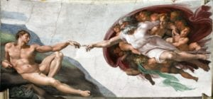 Most Beautiful Cathedral - Michelangelo's Creation of Man