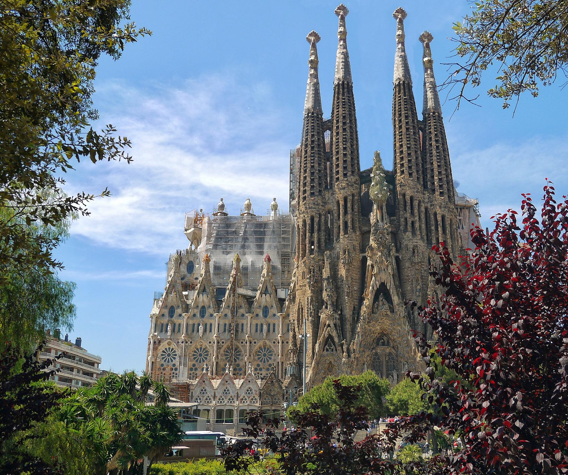 Most Beautiful Cathedral - Barcelona's La Sagrada Familia