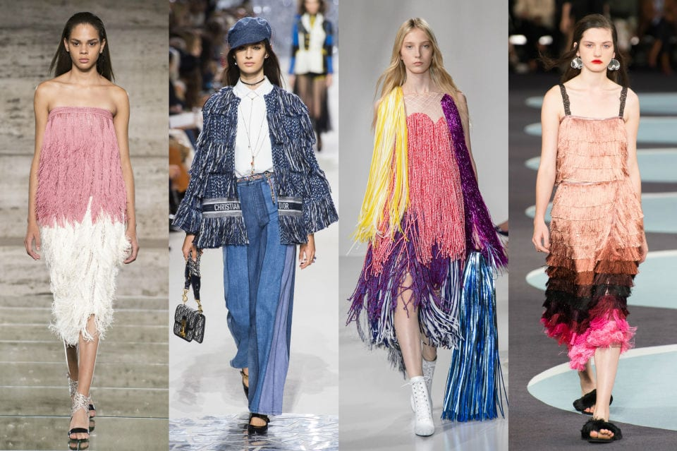 Spring Fashion Trends Fringe