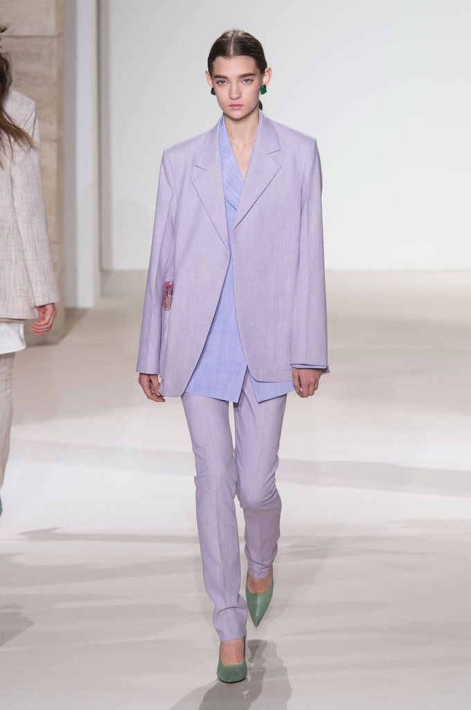 Spring Fashion Trend Lavender Victoria Beckham