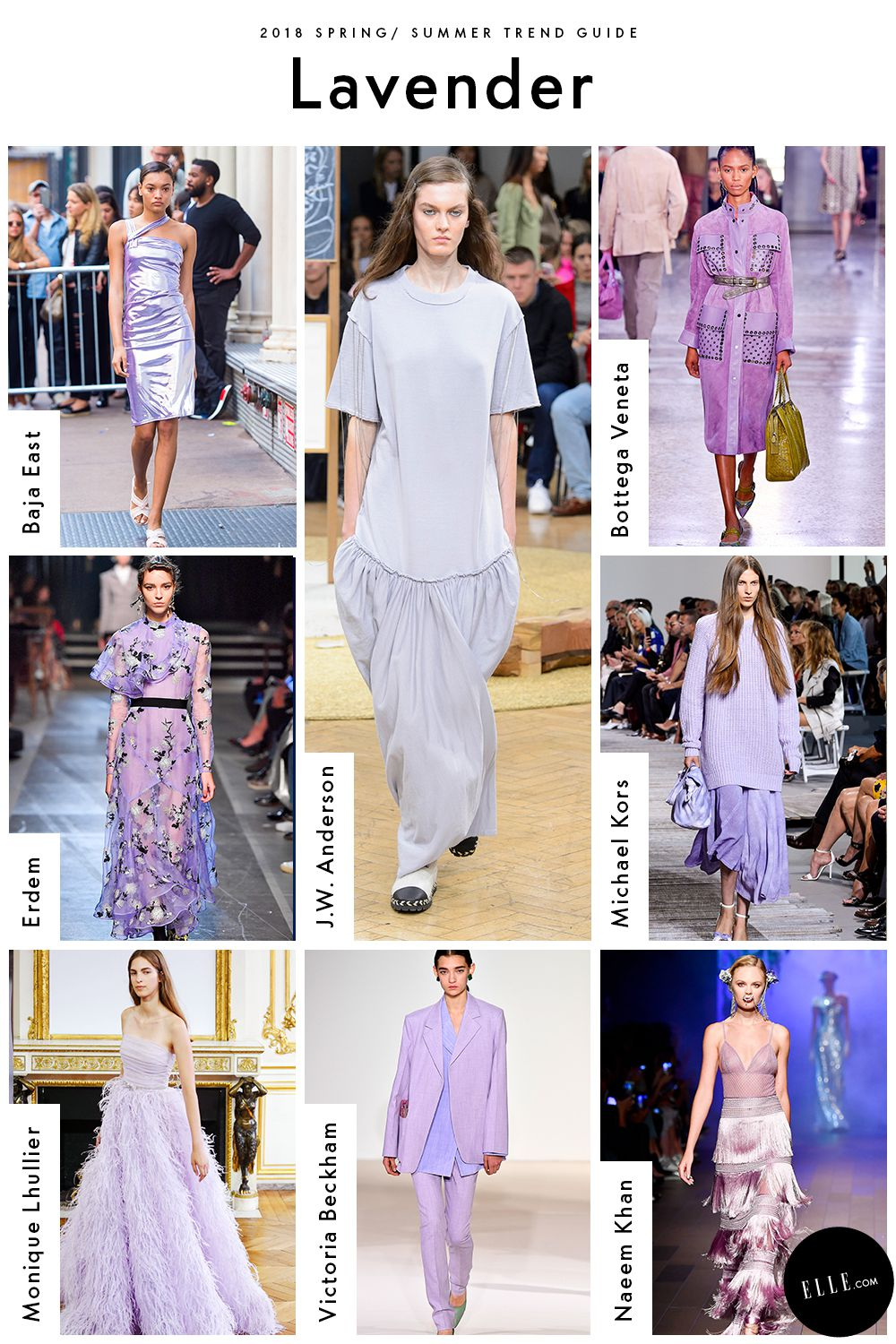 Spring Fashion Trends Lavender