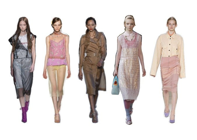 Spring Fashion Trends Sheer