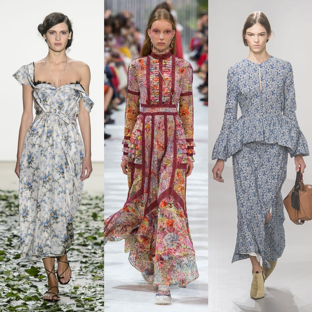 Spring fashion trends romance