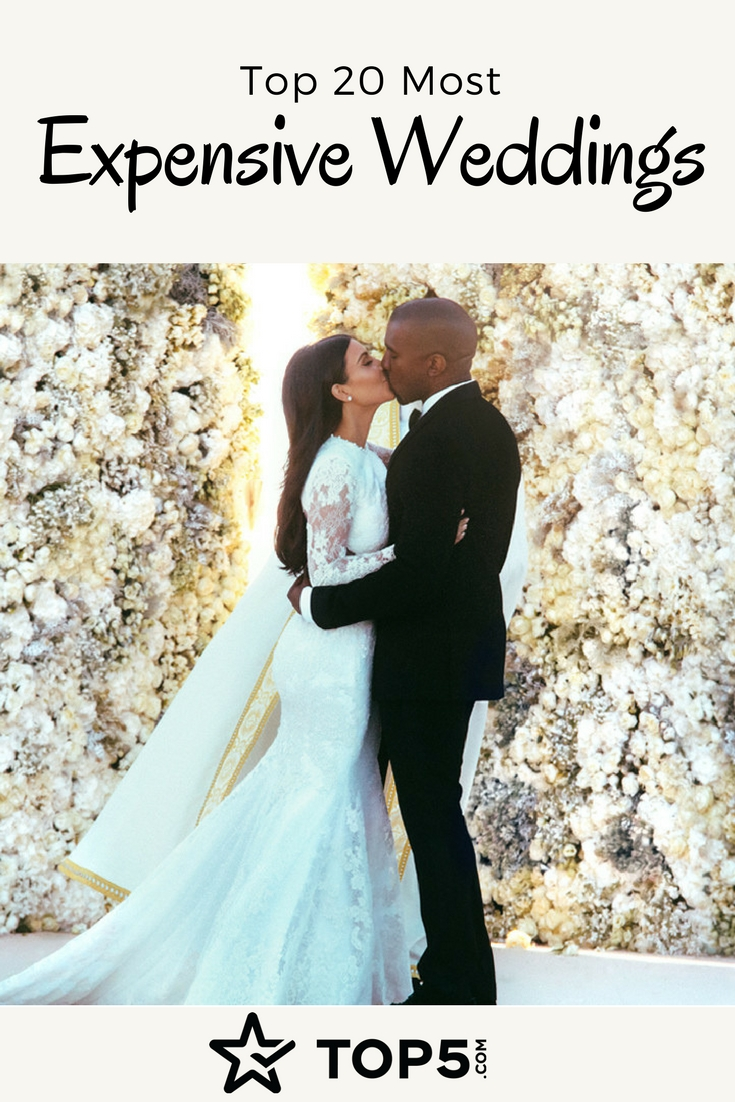 most expensive weddings Pinterest