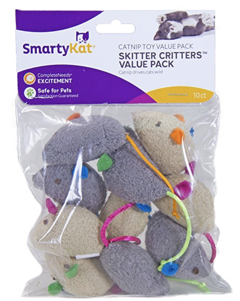 catnip toys variety pack