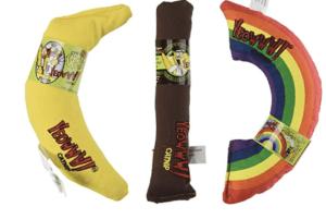 catnip toys banana
