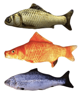catnip toys fish