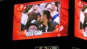 kiss cam fails
