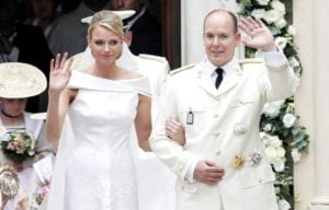 most expensive weddings Prince Albert II and Charlene Wittstock
