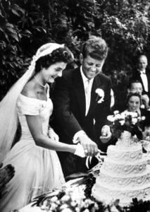 most expensive weddings Jacqueline Bouvier and John F. Kennedy