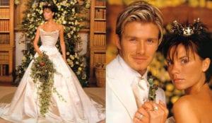 most expensive weddings beckham
