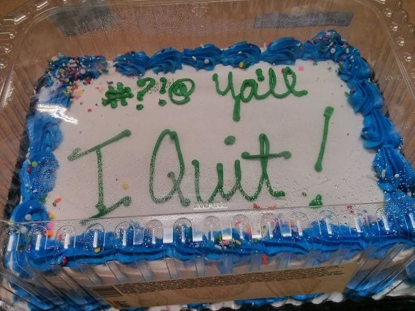 quit in style cake part 2