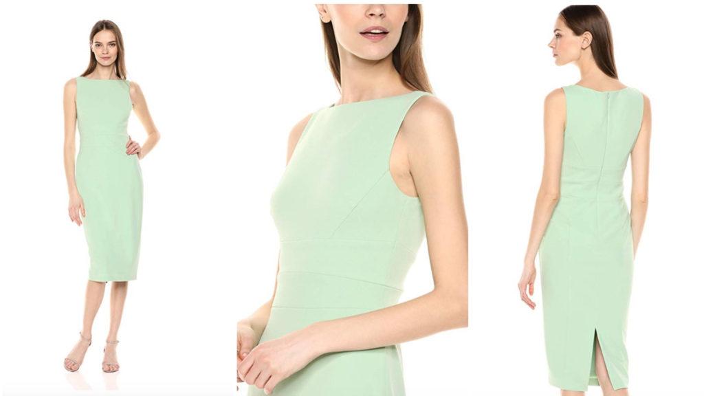 the elegant mint green look